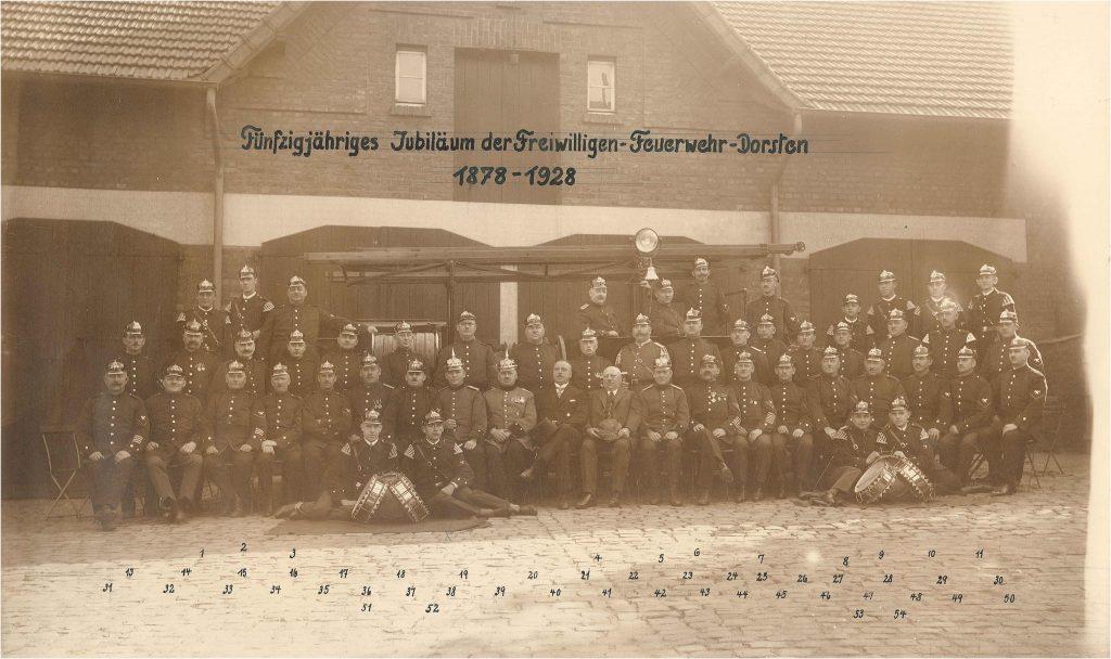Mannschaftsfoto von 1929