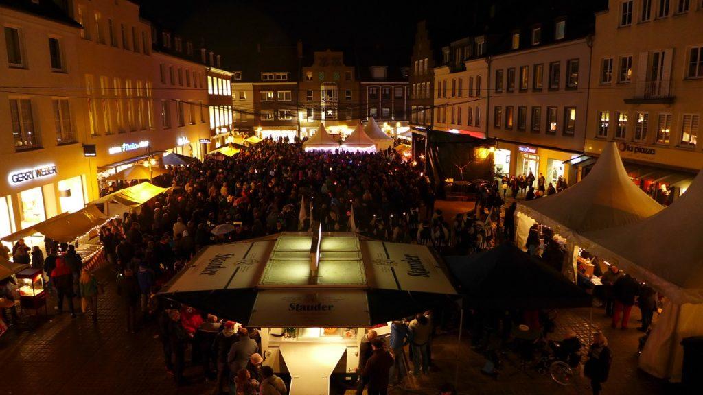 Der Marktplatz von oben