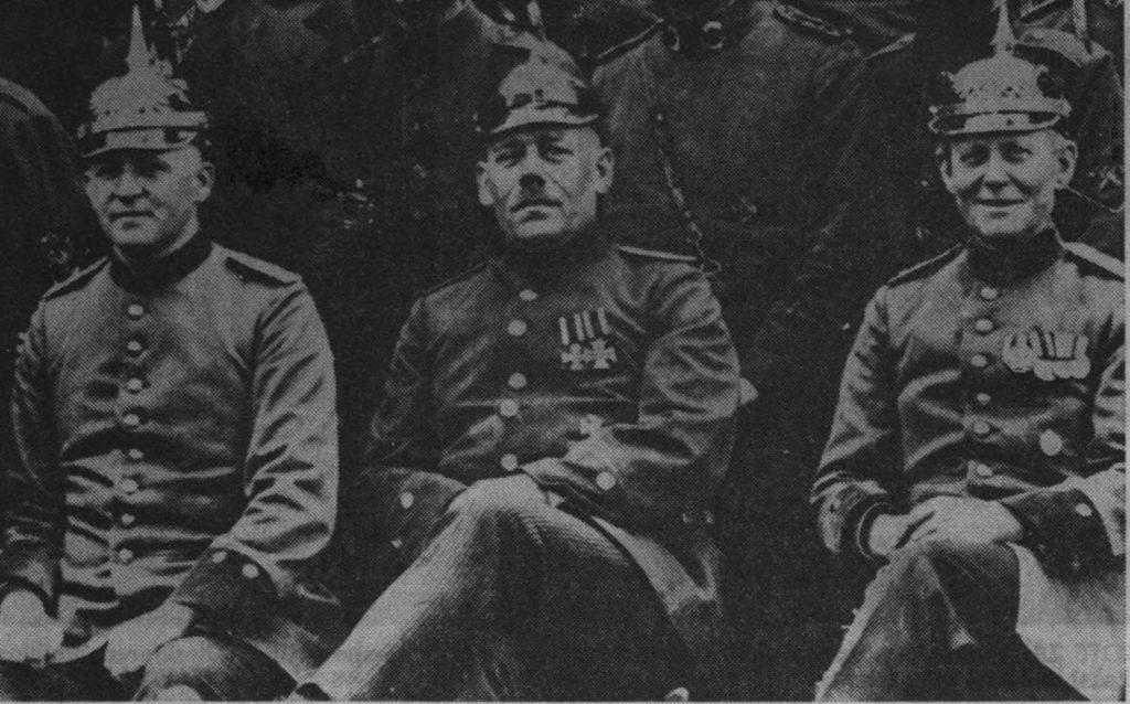 Wilhelm Bröckerhoff, Hermann Böttcher und Dietrich Gross-Blotekamp nach dem Ersten Weltkrieg