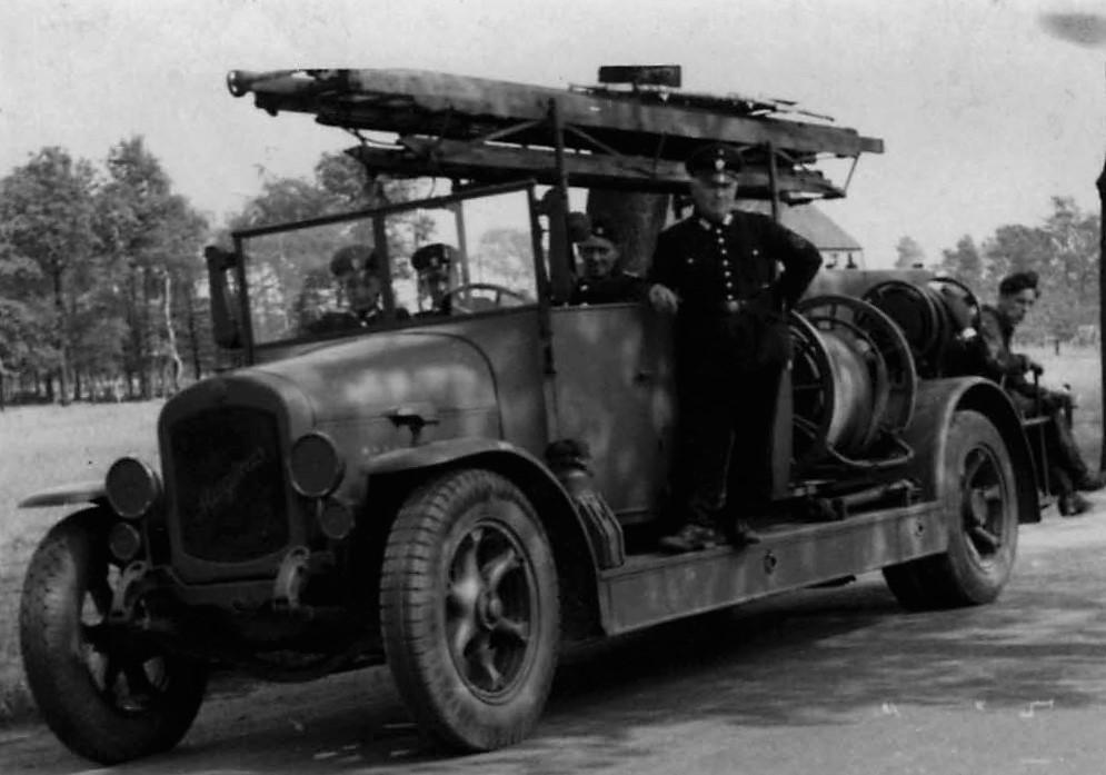 Altes Magirus Fahrzeug