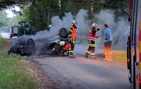 Schwerer Verkehrsunfall – Das Szenario der diesjährigen Abschlussübung