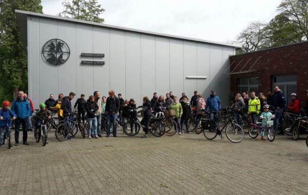 Große Fahrradtour am 1. Mai